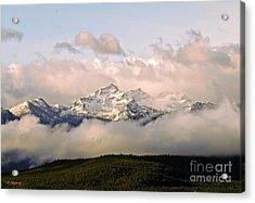 Montana Mountain Acrylic Print by Joseph J Stevens