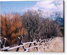Montana Pardise Valley  Acrylic Print