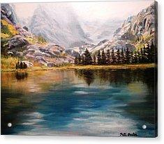 Montana Reflections Acrylic Print