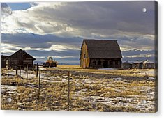 Montana Rural Scenery Acrylic Print by Dana Moyer