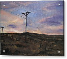Montana Sky Acrylic Print