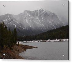 Montana Winter Acrylic Print by Yvette Pichette