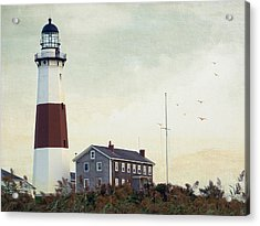 Acrylic Print featuring the photograph Montauk Dusk by Keith Armstrong