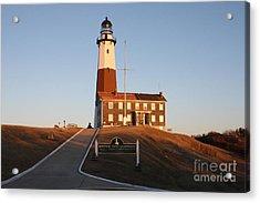 Montauk Lighthouse Entrance Acrylic Print
