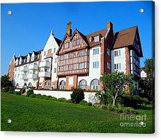 Montauk Manor Acrylic Print by Ed Weidman