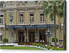 Acrylic Print featuring the photograph Monte Carlo Casino by Allen Sheffield