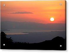 Monte Verde Sunset Acrylic Print