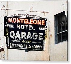 Monteleone Hotel Acrylic Print