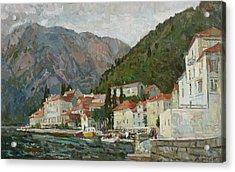 Montenegrin Venice Acrylic Print
