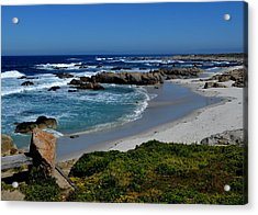 Acrylic Print featuring the photograph Monterey-1 by Dean Ferreira
