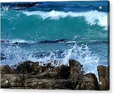 Acrylic Print featuring the photograph Monterey-3 by Dean Ferreira
