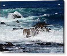 Acrylic Print featuring the photograph Monterey-6 by Dean Ferreira