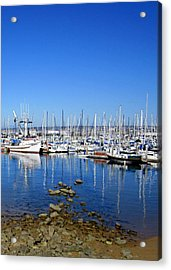 Acrylic Print featuring the photograph Monterey-7 by Dean Ferreira