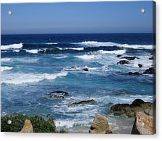 Acrylic Print featuring the photograph Monterey-9 by Dean Ferreira