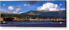Monterey Bay California Acrylic Print by Lynn Bolt