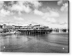 Monterey Old Fisherman's Wharf Acrylic Print