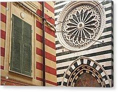 Monterosso Al Mare  Cinque Terre Acrylic Print