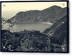 Monterosso Al Mare From Above Acrylic Print