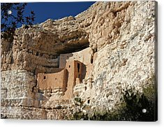 Acrylic Print featuring the photograph Montezuma Castle by Penny Meyers