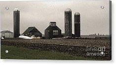 Montezuma Iowa - Farm Acrylic Print by Gregory Dyer