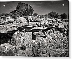 Montezumas Well Acrylic Print by Gregory Dyer