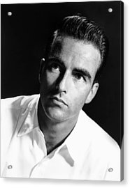 Montgomery Clift, Ca. Early 1950s Acrylic Print by Everett