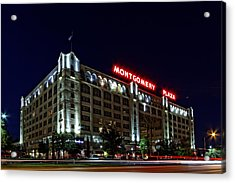 Montgomery Plaza Fort Worth Acrylic Print by Jonathan Davison