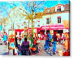 Montmartre 16 Acrylic Print