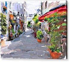 Montmartre Beauty Acrylic Print