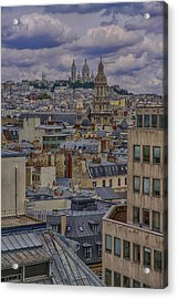 Montmartre Acrylic Print by Gary Hall
