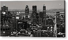 Montreal City Acrylic Print