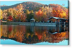 Montreat Autumn Acrylic Print