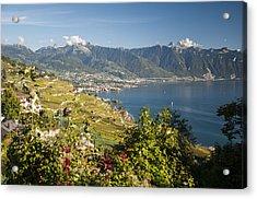 Montreux On Lake Geneva Acrylic Print