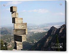 Montserrat Spain Acrylic Print by Sophie Vigneault