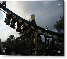 Montu Roller Coaster - Busch Gardens Tampa - 01139 Acrylic Print