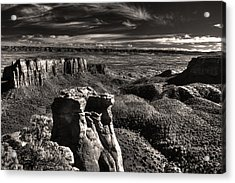 Monument Canyon Monolith Acrylic Print
