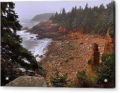 Monument Cove - Acadia Acrylic Print by Stephen  Vecchiotti