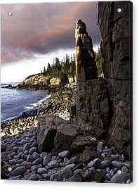 Monument Cove Sunrise 4984 Acrylic Print by Brent L Ander