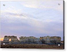 Monument Rocks Acrylic Print