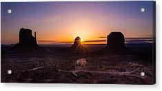 Monument Sunrise Acrylic Print