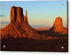 Monument Valley 2 Acrylic Print by Ayse Deniz
