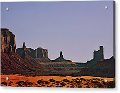 Monument Valley - An Iconic Landmark Acrylic Print by Christine Till