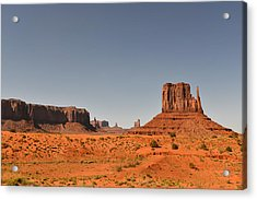 Monument Valley - Beauty Created By Nature Acrylic Print by Christine Till