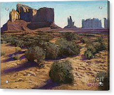 Monument Valley Acrylic Print by Dave Holman