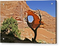 Monument Valley - Ear Of The Wind Acrylic Print by Christine Till