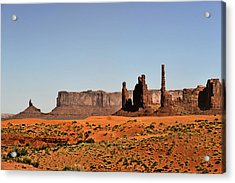 Monument Valley - Icon Of The West Acrylic Print by Christine Till