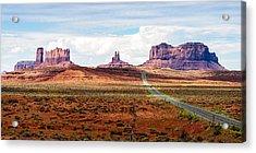 Monument Valley Acrylic Print by John McArthur