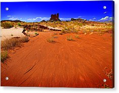 Monument Valley Utah Usa Acrylic Print by Richard Wiggins