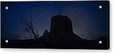 Monument Valley Starlight Acrylic Print