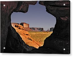 Monument Valley - The Untamed West Acrylic Print by Christine Till